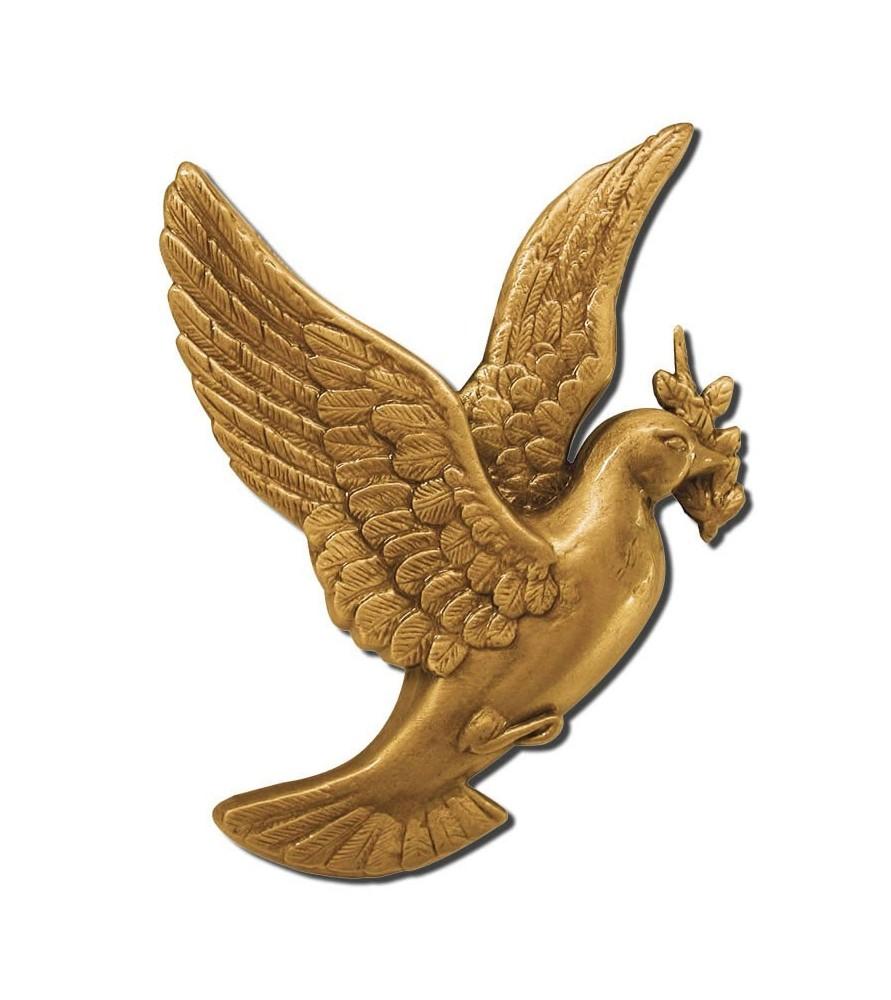 Paloma bronce mediana