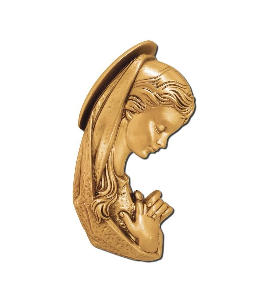 Virgen niña de frente