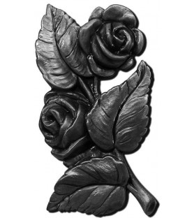 Ramo de rosas bronce
