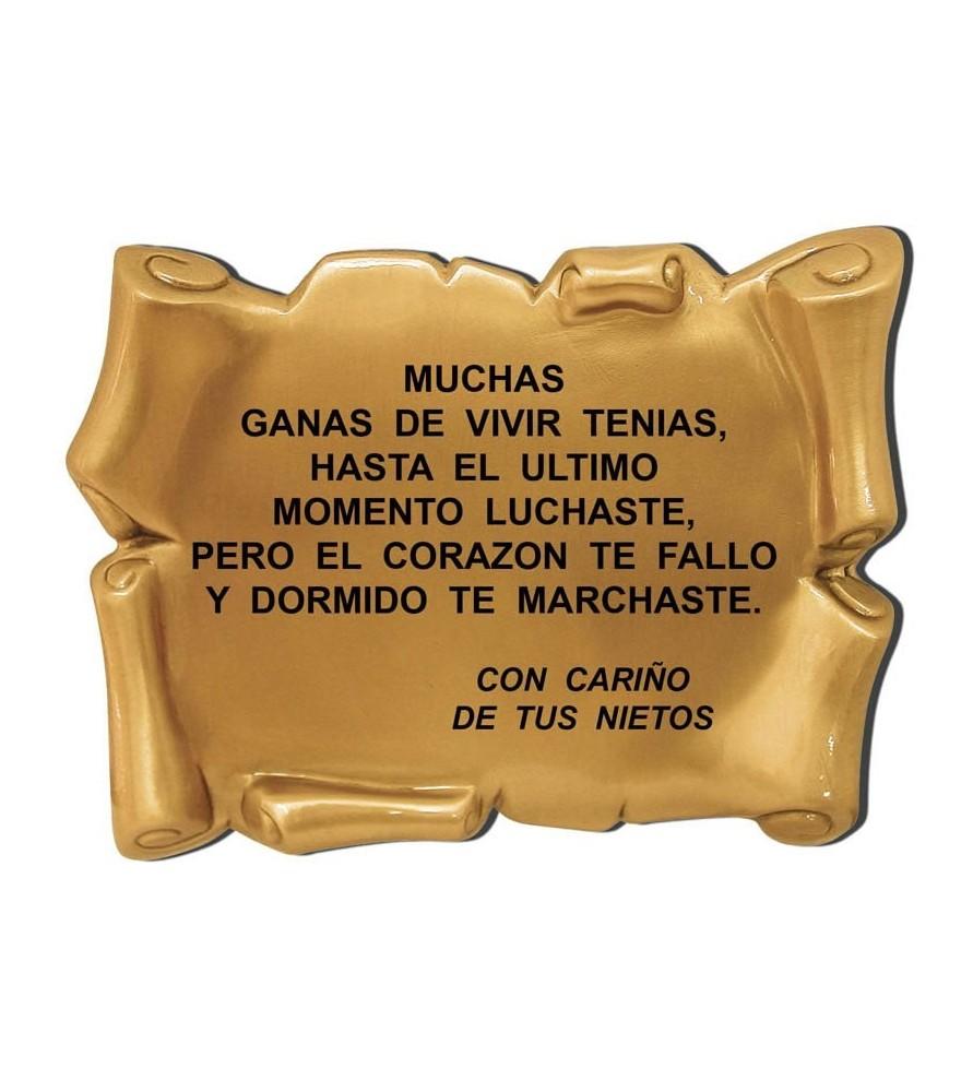 Pergamino bronce