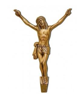 Cristo de bronce de 77 cm