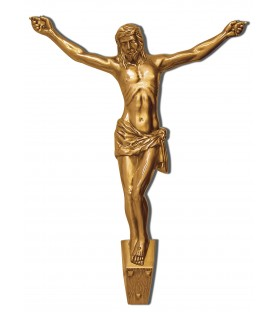 Cristo de bronce  de 64 cm