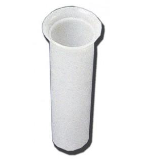 Deposito de plastico bucaro acero inoxidable