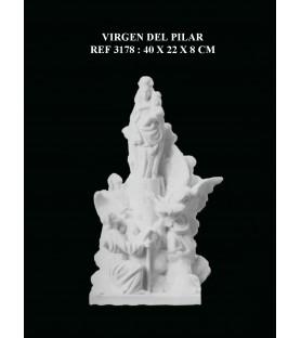 virgen del pilar ref: 3178