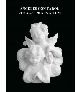 angeles con farol ref: 3226