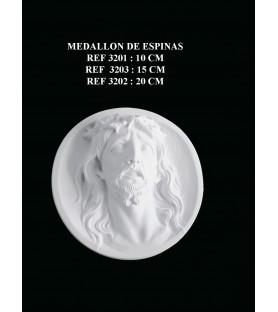 Medallon de espinas ref: 3202