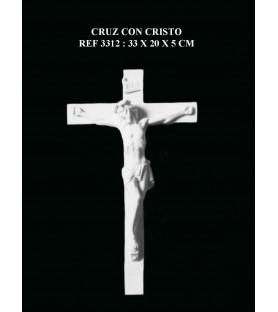 Cruz con cristo ref: 3312