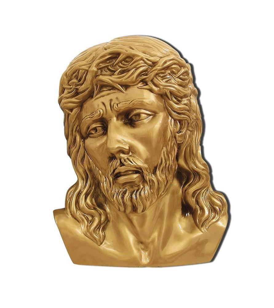 cristo espinas bronce